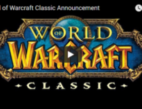 Classic Wow Announcement!!
