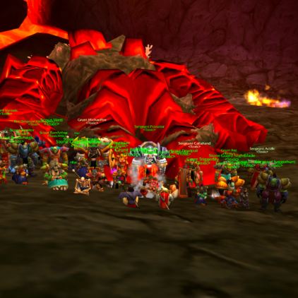 Toxic 8/10 Molten Core with 30 people!